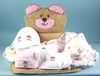 Teddy Bear Floor Mat Gift Set