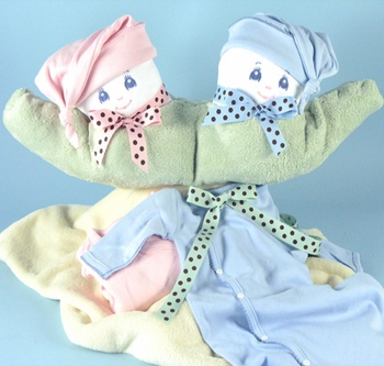 Two Sweet Peas in a Pod Gift Set (Can be Personalized)
