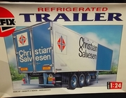 Airfix 10403     --     Refrigerated Trailer   1:24