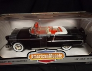 AmMuscle 29114      --     1955 Chevy Bel Air Convertible  /  Beckman 2nd Edition   1 of 2500   1:18