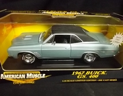 AmMuscle 29258      --      1967 Buick GS 400   / Special Color 2,500 pcs.   1:18