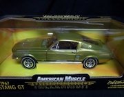 AmMuscle 32239   --     1967 Mustang GT  Millennium Edition  1:18  (greenish chrome paint)