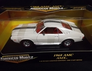 AmMuscle 32279    --      1968 AMC AMX   1:18