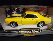AmMuscle 33572    --    1969 Camaro Z-28  /   Limited Edition 1 of 2,500 1:18