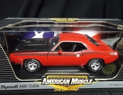 AmMuscle 33749    --     1970 Plymouth AAR 'Cuda   1:18    Limited Edition 1 of 2,500