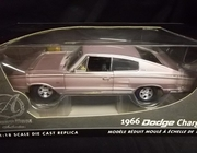 AmMuscle 33933     --     1966 Dodge Charger   /  Authentic Series  1:18