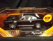 "AmMuscle 36685   --   ""Phantasm""   1971 Plymouth 'Cuda 340   1:18"