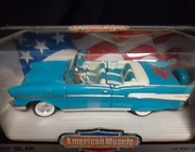 AmMuscle  7026    --   '40th Anniversary'  1957 Chevy Bl Air 1:18