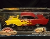 AmMuscle 7399     --     1957 Chevy Bel Air Street Machine /  with lights & sound   1:18