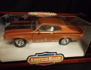 AmMuscle 7875     --     1971 Buick GSX    1:18    (plastic on box has scuffs)