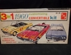 AMT 11160 --    1960 Ford Convertible  3'n1 Customizing Kit   1:25