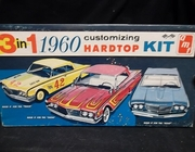 AMT 1160    --    1960 Ford Hardtop 3'n1 Customizing Kit  1:25