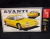 AMT 2064      --    Avanti 3'n1 Customizing Kit   (parts off tree)   1:25