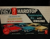 AMT 2222     --    1962 T-Bird Hardtop 3'n1 Customizing Kit   1:25  (motorcycle not complete)