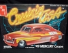 AMT 2252     --    '49 Mercury Coupe  by Barris     1:25    (bad decals)