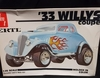 AMT 2402   --    '33 Willys Coupe   1:25  (rough decals)