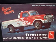 AMT 2707   --    'Firestone' Macho Machine Ford 4x4 Pickup    1:25