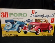 AMT   --   '36 Ford 3'n1 Customizing Kit  1:25  (no decals)