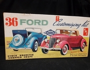AMT    --      '36 Ford 3'n1 Customizing Kit   / Factory Sealed   1:25