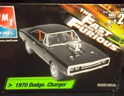 "AMT 38033     --     ""The Fast & Furious""  1970 Dodge Charger   1:25"