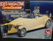 AMT 38255   --   Plymouth Prowler with trailer 1:25