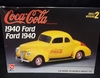AMT 50823   --   'Coca-Cola'   1940 Ford    1:25