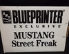 AMT 6016   --    Mustang Street Freak  /  Blueprinter Exclusive  1:25