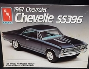 AMT 6052    --     1967 Chevy Chevelle SS396   1:25