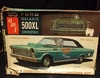 AMT 6115     --     '65 Ford Galaxie 500XL Convertible  3'n1 Customizing Kit   1:25   (rough box)