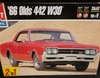 AMT 6268     --     '66 Olds 442 W30   1:25