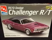 AMT 6466     --     1970 Dodge Challenger R/T   1:25   (bad decals)