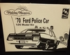 AMT 6499     --     '70 Ford Police Car   1:25