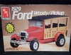 AMT 6518   --    1929 Ford Woody/Pickup    1:25