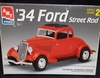 AMT 6686    -    '34 Ford Street Rod   1:25