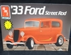 AMT 6714    --    '33 Ford Street Rod  2'n1    1:25