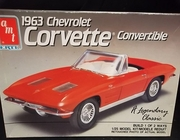 AMT 6774    --    1963 Corvette Convertible   1:25