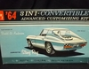 AMT 6914    --     '64 Corvette Sting Ray 3'n1 Convertible Advanced Customizing Kit   / Stock, Custom, Rally Version    1:25