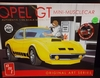 AMT 729/12    --     Opel GT   Mini-Muscle Car  Special Release/includes print   1:25
