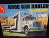 AMT 758/06     --      Race Car Hauler Ford LN 8000 / Louisville Line   1:25