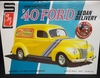 AMT 769/12   --     '40 Ford Sedan Delivery    Special Release includes print    1:25