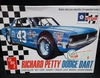 "AMT 819/12    --     Richard Petty Dodge Dart / Chrysler ""Kit Car"" Short-Track Late Model Sportsman   1:25"