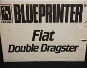 AMT 8605    --    Fiat Double Dragster  Blueprinter Edition 1:25