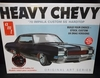 AMT 895/12    --    'Heavy Chevy'  '70 Impala Custom SS Hardtop   3'n1  includes exclusive print  1:25