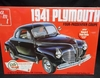 AMT 919/12   --    1941 Plymouth Four-Passenger Coupe  2'n1   1:25