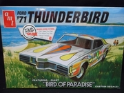 "AMT 920/12    --    ""Bird Of Paradise""  1971 Ford Thunderbird    1:25"