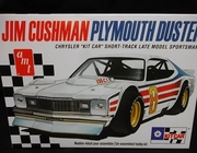 "AMT 924/12    --    Plymouth Duster Jim Cushman/Chrysler ""Kit Car"" Short-Track Late Model Sportsman  1:25"