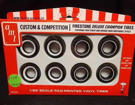 AMT pp002 -- Firestone Deluxe Champion Tires / Featuring