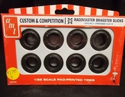 AMT pp004     --     M&H Racemaster Dragster Slicks  / Style No. 3 Sportsman 10.50-15   1:25