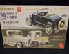 AMT T129    --    '29 Model A Ford  Roadster/Ala-Kart   Build 2 Complete Models  3'n1  1:25