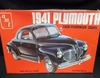 AMT T148    --    1941 Plymouth Four-Passenger Coupe   1:25